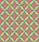 Nahtloser geometrischer Farbmusterhintergrund Lizenzfreies Stockfoto