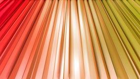 Nahtloser geometrischer Hintergrund 3d im modernen geometrischen Stil niedrig Poly mit hellen Steigungsfarben 4k säubern rotes or lizenzfreie abbildung