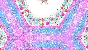 Nahtloser geometrischer Hintergrund 3d im modernen geometrischen Stil niedrig Poly mit hellen Steigungsfarben sauberes Tief des b lizenzfreie abbildung