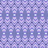 Nahtloser geometrischer Hintergrund mit offen-gearbeiteten Details Stockfotografie