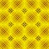 Nahtloser geometrischer Hintergrund mit verwickeltem Gitter Stockbilder