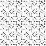 Nahtloser geometrischer Hintergrund, Vektorillustration Lizenzfreie Abbildung