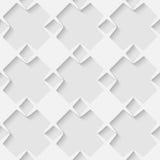 Nahtloser geometrischer Musterhintergrund des Vektors 3d Stockbild
