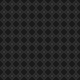 Nahtloser geometrischer Mustervektor des schwarzen und grauen Pixels Stockbilder