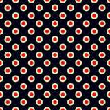 Nahtloser geometrischer Musterzusammenfassungshintergrund Stockbild