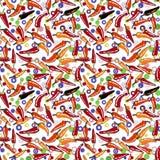 Nahtloser geometrischer Musterzusammenfassungshintergrund Lizenzfreie Stockbilder
