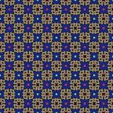 Nahtloser geometrischer Musterzusammenfassungshintergrund Stockfotografie