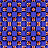Nahtloser geometrischer Musterzusammenfassungshintergrund lizenzfreies stockfoto