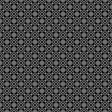 NAHTLOSER GEOMETRISCHER SCHWARZWEISS-RÜTTLER, HINTERGRUND-DESIGN abstrakter Hintergrund Wiederholen und editable Kann für Druck v Lizenzfreie Stockfotografie
