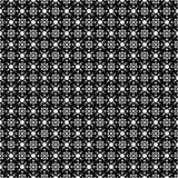 NAHTLOSER GEOMETRISCHER SCHWARZWEISS-RÜTTLER, HINTERGRUND-DESIGN abstrakter Hintergrund Wiederholen und editable Kann für Druck v Stockfotografie