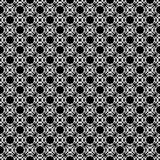 NAHTLOSER GEOMETRISCHER SCHWARZWEISS-RÜTTLER, HINTERGRUND-DESIGN abstrakter Hintergrund Wiederholen und editable Kann für Druck v Lizenzfreies Stockbild
