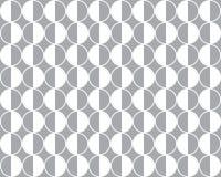 Nahtloser geometrischer Vektormusterhintergrund Stockbilder