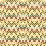 Nahtloser geometrischer Zickzack-Hintergrund Stockfoto