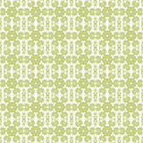 Nahtloser grüner u. weißer Blumenhintergrund Stockbild