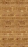 Nahtloser Hintergrund: Backsteinmauer Lizenzfreie Stockfotos