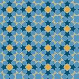 Nahtloser Hintergrund in der arabischen Art Stockbild
