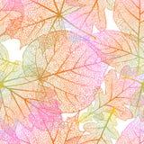 Nahtloser Hintergrund der ausführlichen Blätter ENV 10 Lizenzfreie Stockbilder