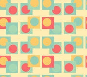 Nahtloser Hintergrund der Geometrie lizenzfreies stockbild