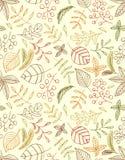 Nahtloser Hintergrund der Herbstblätter entblätterung Trockenes Gelb verlässt, das der Wind in einer Luft nahe der goldenen Eiche stock abbildung