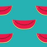 Nahtloser Hintergrund der netten Früchte Lizenzfreies Stockfoto