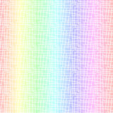 Nahtloser Hintergrund der Pastellregenbogenzusammenfassung vektor abbildung
