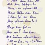 Nahtloser Hintergrund der Poesie Stockbilder