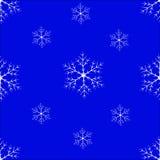 Nahtloser Hintergrund der Schneeflocke Lizenzfreie Stockfotos