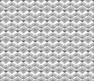 Nahtloser Hintergrund der Zusammenfassung 3d gemacht von den weißen polygonalen Strukturen Stockbild