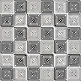 Nahtloser Hintergrund des abstrakten geometrischen Tapeten-Musters der Weinlese Lizenzfreie Stockbilder