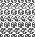 Nahtloser Hintergrund des abstrakten gewundenen Vektors. Lizenzfreie Stockbilder