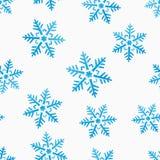 Nahtloser Hintergrund des abstrakten Winters stock abbildung