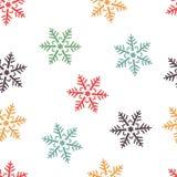 Nahtloser Hintergrund des abstrakten Winters lizenzfreie abbildung