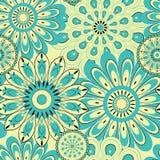 Nahtloser Hintergrund des Blumenmusters Stockbild