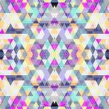 Nahtloser Hintergrund des Dreiecks Stockfotos