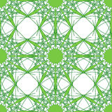 Nahtloser Hintergrund des grünen Vektors lizenzfreie abbildung