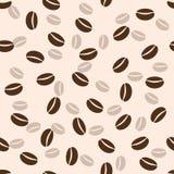Nahtloser Hintergrund des Kaffees, Illustration Lizenzfreie Stockbilder