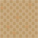 Nahtloser Hintergrund des Mosaiks im braunen Ton Lizenzfreie Stockbilder