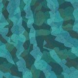 Nahtloser Hintergrund des polygonalen Gitters, blaues Dreieck bewegt wellenartig, Lizenzfreie Stockbilder