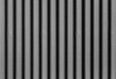 Nahtloser Hintergrund des schwarzen Metallplattenzauns Lizenzfreies Stockfoto