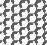 Nahtloser Hintergrund des sechseckigen Vektors lizenzfreie abbildung