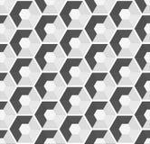 Nahtloser Hintergrund des sechseckigen Vektors vektor abbildung