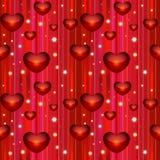 Nahtloser Hintergrund des Valentinsgrußes Stockfotografie