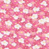 Nahtloser Hintergrund Helle Blumen Stockbilder
