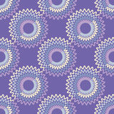 Nahtloser Hintergrund mit abstraktem geometrischem Muster Stockfotografie