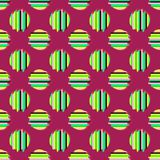 Nahtloser Hintergrund mit abstraktem geometrischem Muster Abstrakte digitale Störschubgraphik Lizenzfreies Stockbild