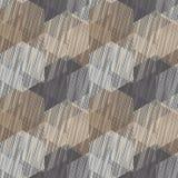 Nahtloser Hintergrund mit abstraktem geometrischem Muster Gekritzelbeschaffenheit Lizenzfreie Stockbilder