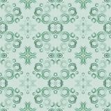 Nahtloser Hintergrund mit Aquarellringen Handzeichnungs-Aquarellkreise Nahtloser Musterhintergrund der Kunst Lizenzfreie Stockbilder