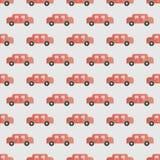 Nahtloser Hintergrund mit Autos Lizenzfreie Stockbilder