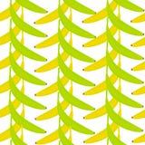 Nahtloser Hintergrund mit Bananen Hängende Bananen lizenzfreie abbildung