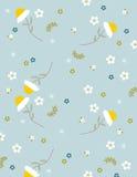 Nahtloser Hintergrund mit Blumenmuster Stockbild